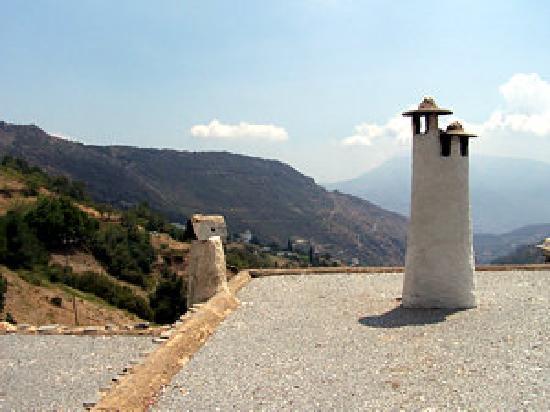 Alpujarra Mountains: Chimney tops