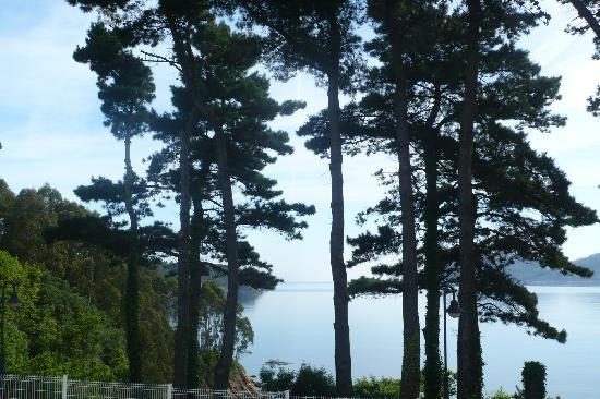 Covas, Spain: las vistas desde nuestra ventana