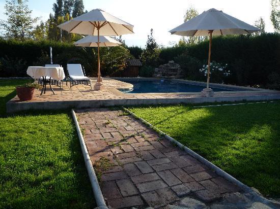 Posada Colchagua: Posada Pool Area