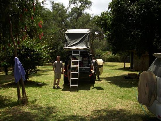 Bantu Utamaduni Lodge: Excellent Camping with Hot water, Kitchen facilities in quiet environment