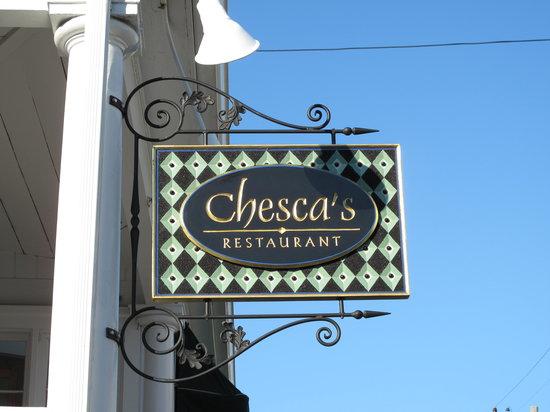 Chesca's Restaurant: Chesca's Sign