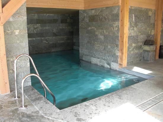 Relais & Chateaux Flocons de Sel: La piscine