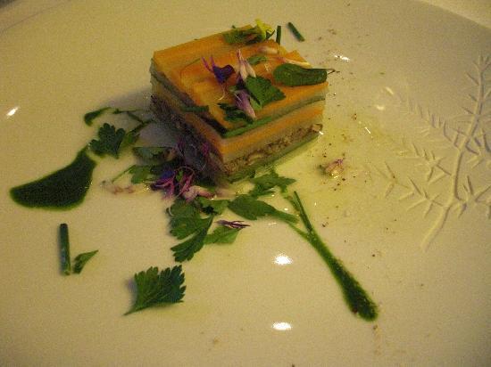 Relais & Chateaux Flocons de Sel : Incroyable cuisine de Mr Renaut
