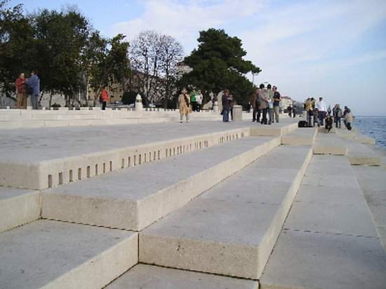 The Sea Organ, Zadar, Croatia