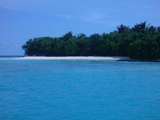 Kuramathi Island Resort: the island