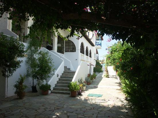 Stalis, Greece: Hotel entrance