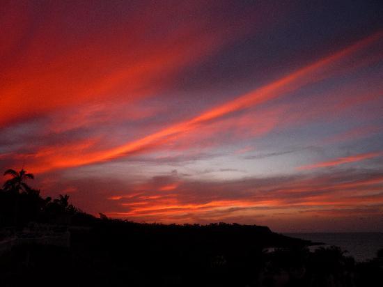 Sol Rio de Luna y Mares: Incroyable couchée de soleil