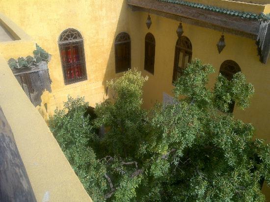 Riad Le Calife: vue du patio