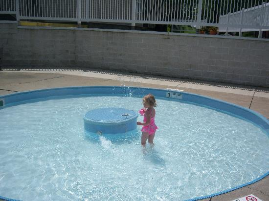 Jellystone Park of Western New York: Wading/baby pool