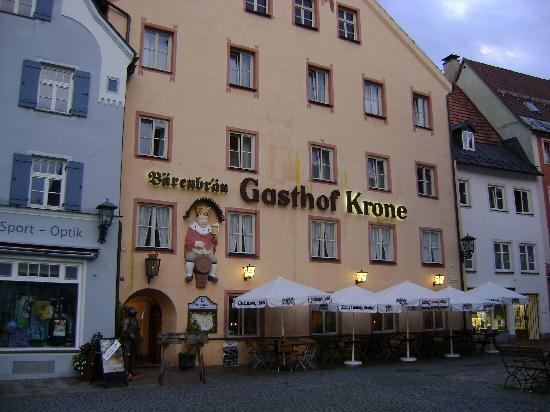 gnocchetti e arrosto di cervo - Picture of Gasthof Krone, Fussen ...