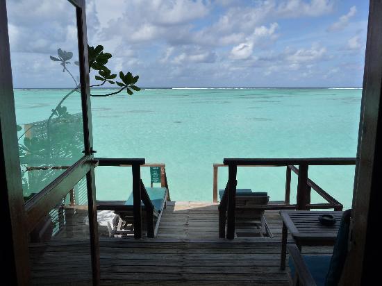 มีรูไอซ์แลนด์รีสอร์ท&สปา: The view from water villa 528.