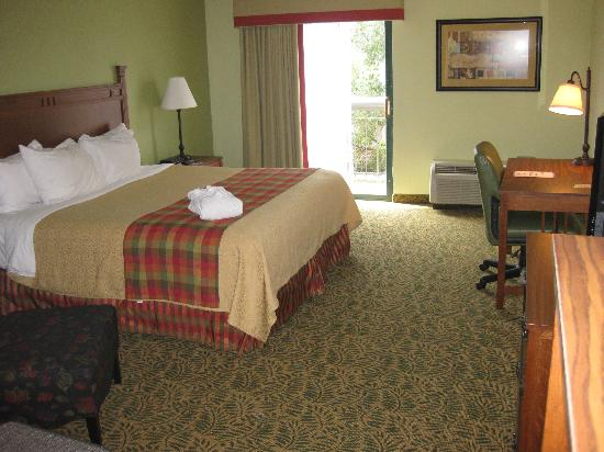 The Lodge at Gainesville: 'executive' room includes fridge & micro & has plenty of room