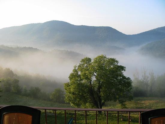 La Serra del Boix: Une vue de notre chambre au petit matin
