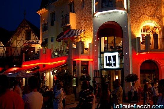 La-Baule-Escoublac, France : Vue extérieure un 14 juillet