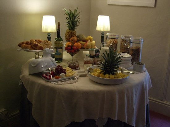 Coedmor Self catering Holiday Cottages: Breakfast Starters