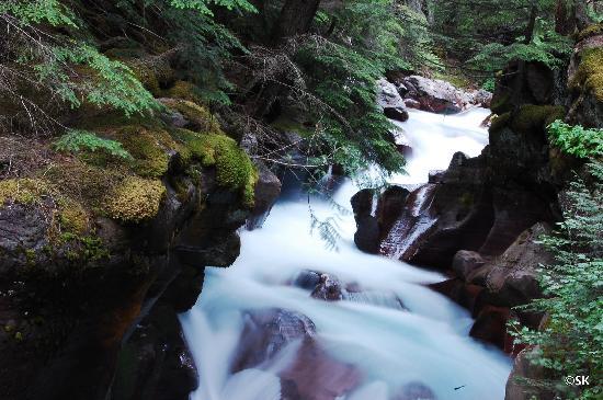 Avalanche Lake: Avalanche gorge