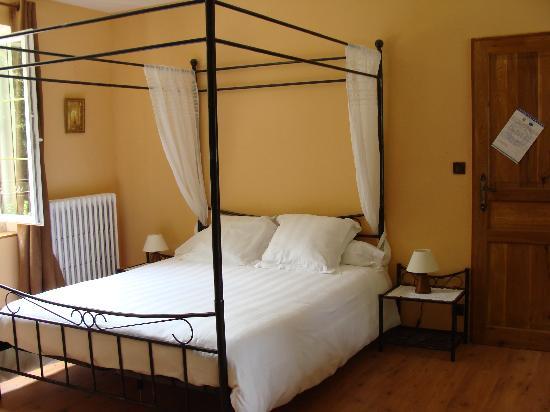 Le Moulin de Bray: la chambre