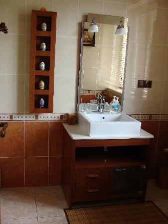 Le Moulin de Bray: la salle de bain