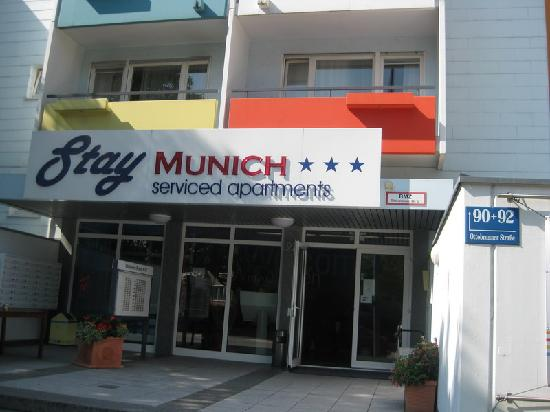 StayMunich Serviced Apartments: from street