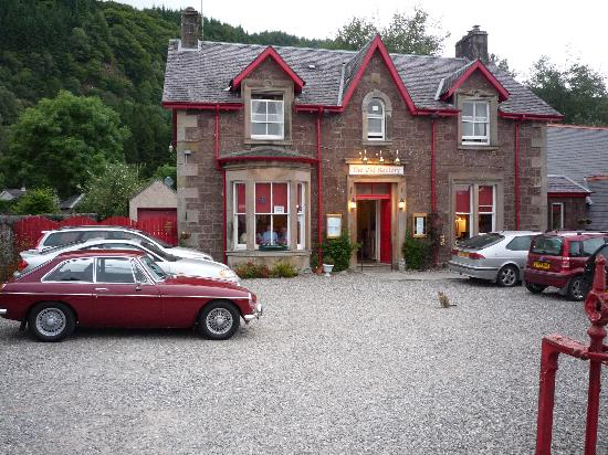 The Old Rectory Inn : front of the b&b