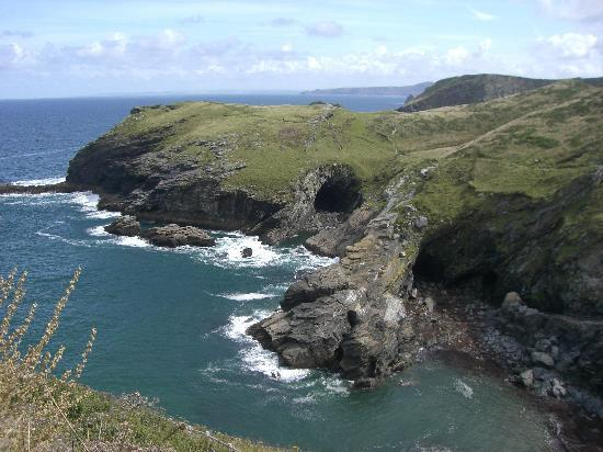 Michael House: Tintagel coastline
