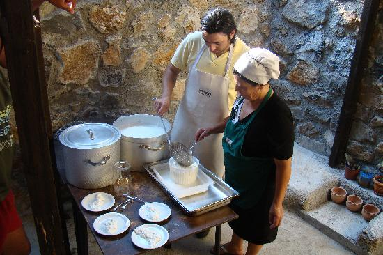 Eleonas: kaas maken