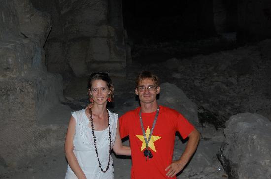 Casa Magnani : Massimo at the caves