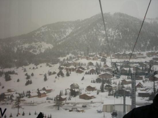 Montgenevre, ฝรั่งเศส: On the lift