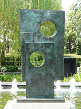 Nasher Sculpture Center : My favorite place from the trip -- Nasher Sculpture Garden. Beautiful, but it was too hot to sta