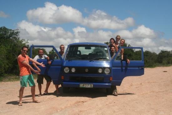 Addo Elephant National Park, แอฟริกาใต้: El fabuloso carro que llevábamos... se arruinó como 4 veces... pero nos llevó a nuestro destino!