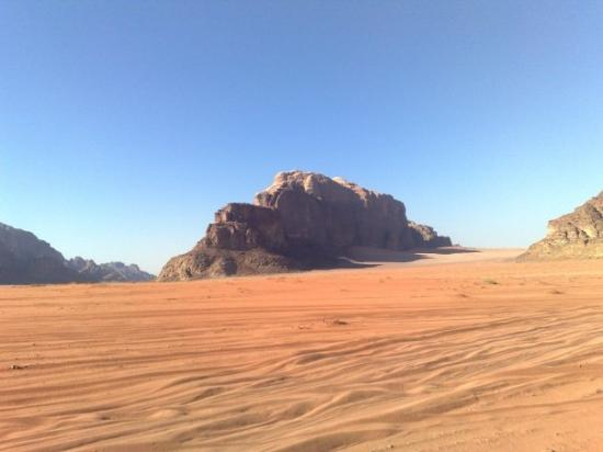 Jebel Khazali: Wadi Rum