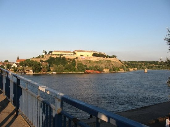 Novi Sad, Serbia: Going up to the fortress