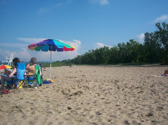 Presque Isle State Park Beach 11 Is Large