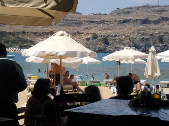 Pefkos, กรีซ: Lindos Beach