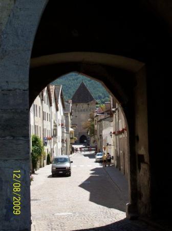 interno del paese di Glorenza (BZ)