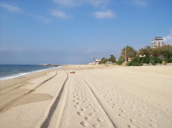 Mataro, Spanje: platja san simò matarò (barcelona)