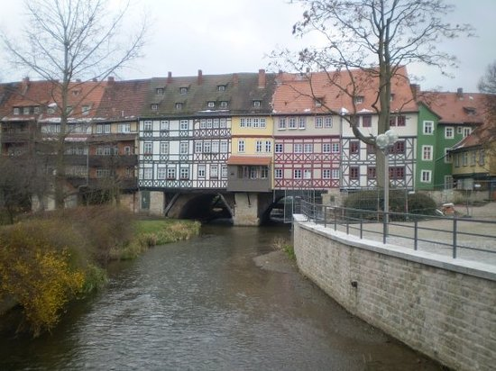 Merchant's Bridge: London bridge in Erfurt