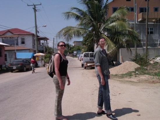 ปลาเซนเซีย, เบลีซ: Placencia Village