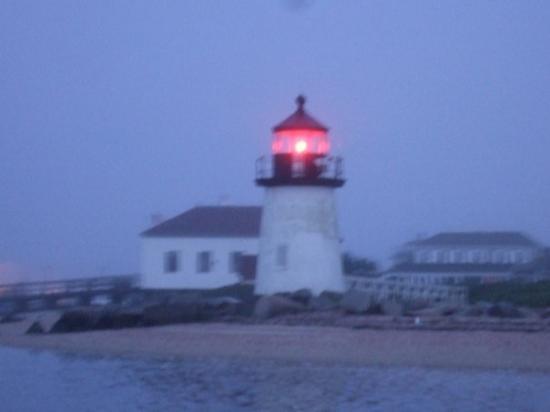 Nantucket (เกาะแนนทัคเก็ต), แมสซาชูเซตส์: Brant Point Lighthouse