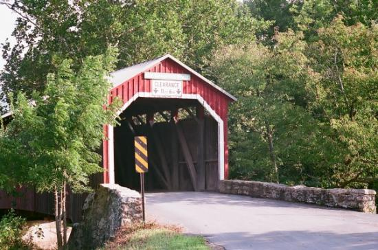 Covered Bridge in New Germantown Pa, That I came across thanks to bad directions on a GPS....lol