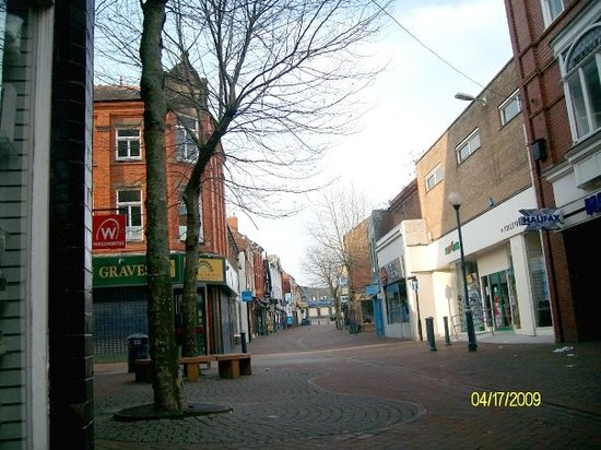 Oswestry, UK: Part of town