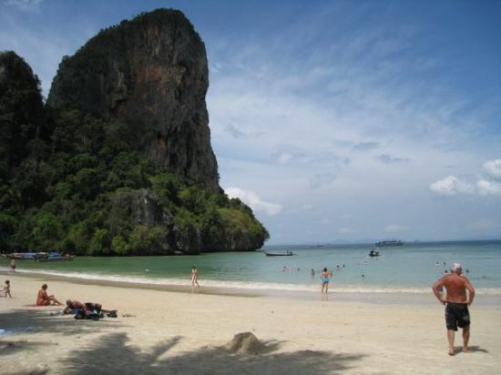 หาดไร่เล: Railay Beach ved Krabi