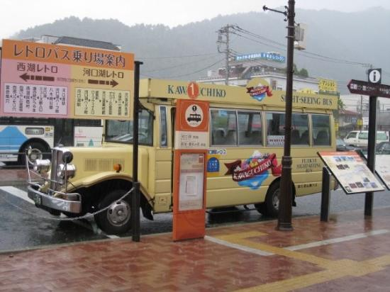 คาวากูชิ , ญี่ปุ่น: 河口湖觀光巴士