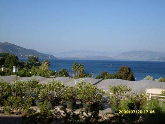 Dassia, กรีซ: The view from our hotel room - 20/07/2009