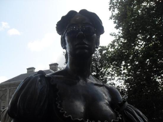 Molly Malone Statue ภาพถ่าย