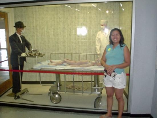 รอสเวลล์, นิวเม็กซิโก: Alien Museum, Roswell, NM - 07/08