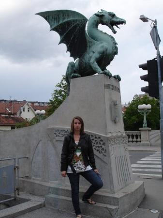 สะพานมังกร: Ljubijana (Eslobenia)