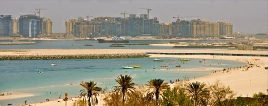 สวนและหาดจูเมร่า: Jumeirah beach, view from pavilion