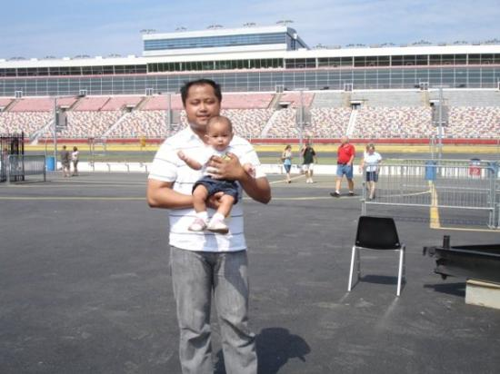 Lowe 39 s motor speedway view inside the track picture of for Charlotte motor speedway condo rental