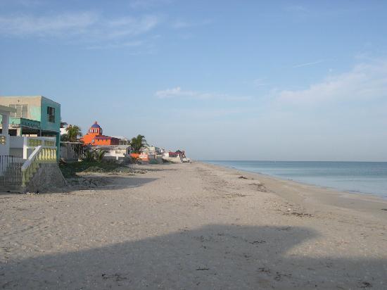 Chelem beach view